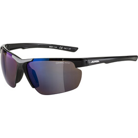Alpina Defey HR Glasses black/blue